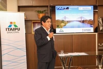 Itaipu informó sobre los detalles técnicos del futuro puente sobre el Paraná