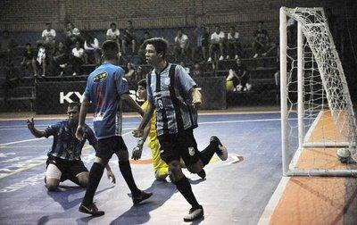 Fomento golea en fútbol de salón