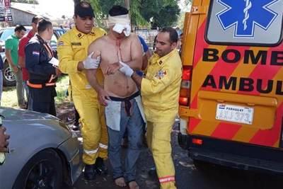 Investigan insólito hecho en CDE: brasileño se arrancó uno de los ojos