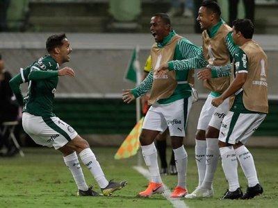 Palmeiras vence a San Lorenzo y es el mejor de la fase de grupos