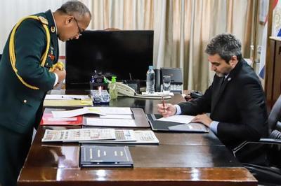 Mandatario cumplirá tareas castrenses en sede de la Dimabel en Piribebuy