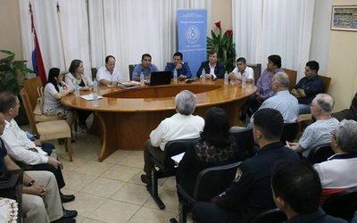 Reactivan comisión interinstitucional de seguridad en Franco