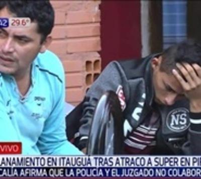 Asalto con toma de rehén: Detienen a sospechosos de atraco en Pirayú