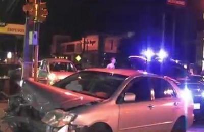 Accidente de tránsito sobre Ruta II en San Lorenzo