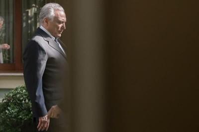 Michel Temer denuevo bajo arresto