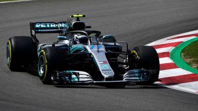 Bottas, el más veloz en el 1er. entrenamiento libre del GP de España