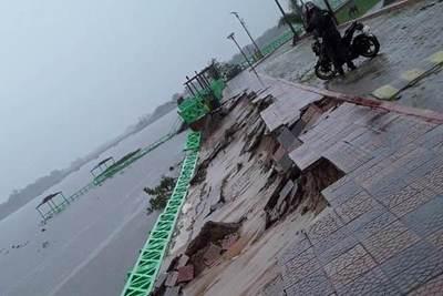 Pilar: el 80% de la ciudad ya está bajo agua