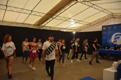 Multitudinaria convocatoria para el casting del Baila Conmigo Paraguay
