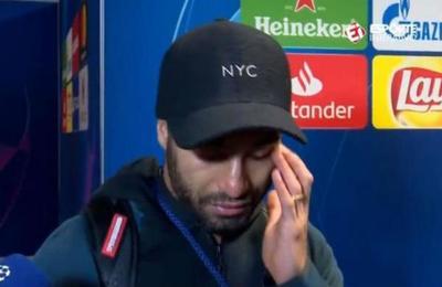 'Es el mejor momento de mi vida': Lucas Moura llora de emoción al escuchar el relato de su gol