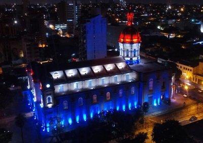 Con nueva iluminación,organizarían actos culturales en iglesia de la Encarnación