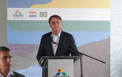 Bolsonaro afirma que nuevo puente ayudará al desarrollo de Brasil y Paraguay