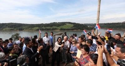 Franqueños celebraron inicio de puente de integración Paraguay – Brasil