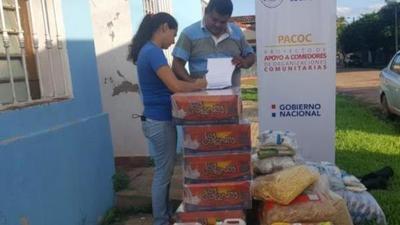 Entregan 4.818 kilos de alimentos a comedores comunitarios de Concepción