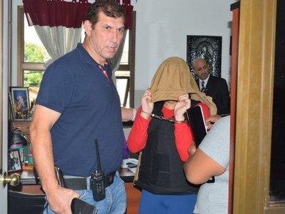 Villarrica: Sospechosa del crimen de un futbolista se abstuvo de declarar