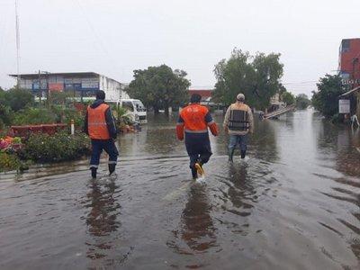 Inundación afecta el 90% de Pilar y se registran más de 10.000 familias damnificadas