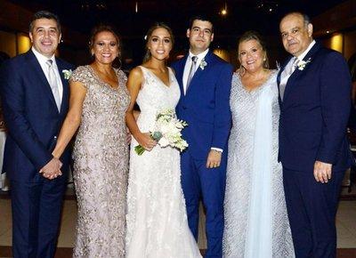 Claudia Figueredo Armoa y Sebastián Silva Velázquez
