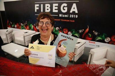PARAGUAYA GANA PREMIO EN FERIA INTERNACIONAL DE GASTRONOMÍA