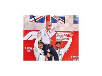 Hamilton-Bottas, 1-2 en F1