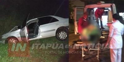 Accidente sobre Ruta 6 deja a una mujer y su hijo gravemente heridos