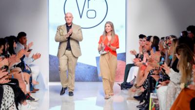 Diseños paraguayos, aclamados en desfile de Fashion Week, en Dubái
