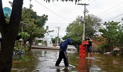 Más de 60.000 fueron afectadas por las inundaciones, según la SEN