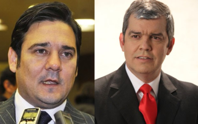 Duro cruce entre Salyn Buzarquis y Enrique Riera