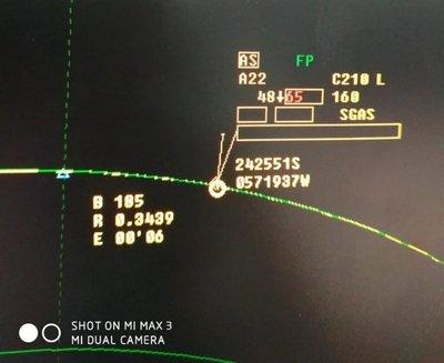 Aterrizaje forzoso en Concepción