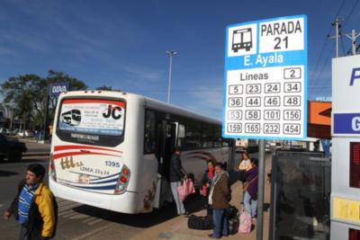 """Anuncian riguroso control contra los buses """"Pombero"""""""