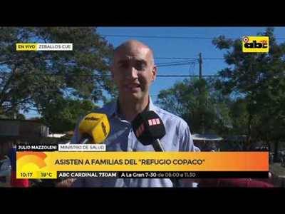 Asisten a familias del Refugio Copaco