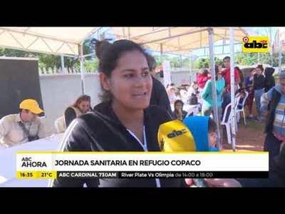 Salud realizó jornada sanitaria en refugio Copaco
