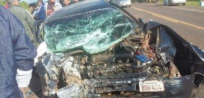 Accidente fatal sobre la Ruta 3