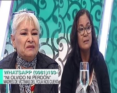 """Desgarrador relató de madres que perdieron a sus hijos en """"Ykua Bolaños"""""""