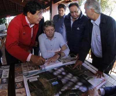 Paraguay y Brasil agilizarán procesos para iniciar construcción del puente Carmelo Peralta-Murtinho