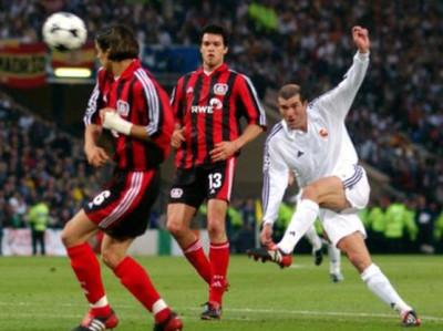 El golazo de Zinedine Zidane en la final de la Champions cumple 17 años
