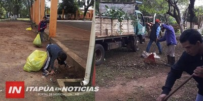 CNEL. BOGADO: VECINOS SE UNEN EN LA LUCHA CONTRA EL DENGUE