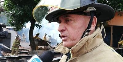 """Capitán de bomberos: """"Es triste que nuestro intendente no ayude"""""""