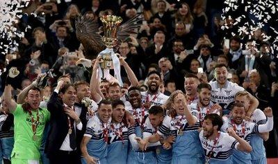 La Lazio gana su séptima Copa de Italia