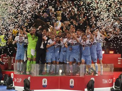 Lazio conquista su séptima Copa de Italia