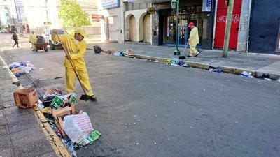 Unas 65 toneladas de basuras dejaron los festejos patrios