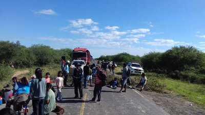Comunidades indígenas continúan con cierre de Ruta Transchaco