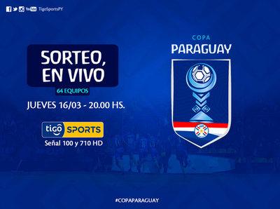 Se conocerán cruces de primera ronda de Copa Paraguay