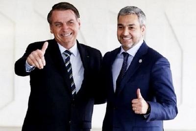 Abdo Benítez niega amenazas de Bolsonaro