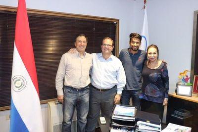 Respaldo absoluto del Comité Olímpico para Derlys Ayala