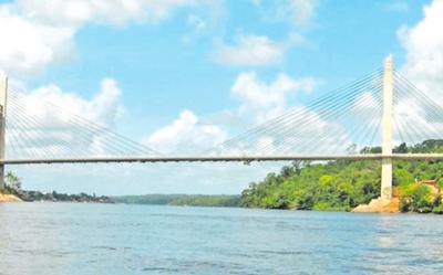 Obras  para el nuevo puente, recién en junio