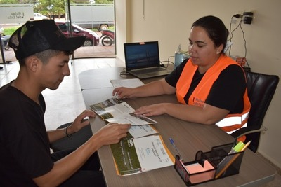 Habilitan centro de información de Rutas del Este en Caaguazú