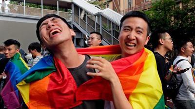 Taiwán es el primer país asiático en legalizar el matrimonio homosexual