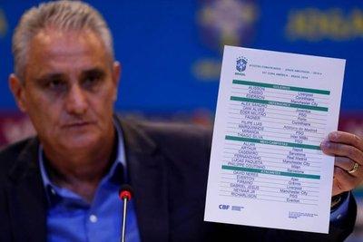 Los convocados por Brasil