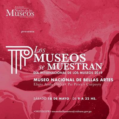 """""""Los Museos se Muestran"""" reunirá exposiciones de más 30 museos este sábado"""