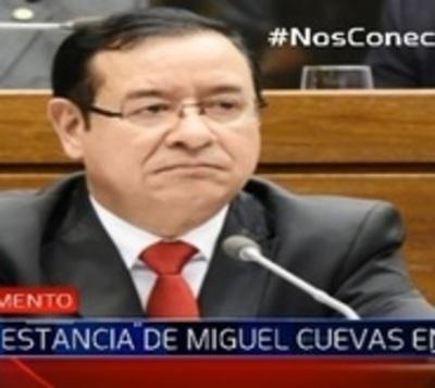 Allanan estancia del diputado Miguel Cuevas