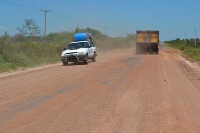 Reciben ofertas para la reparación de la ruta Concepción-Pozo Colorado